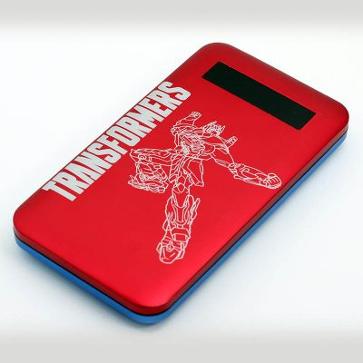 Powerbank 6000mah (Red Tranformers Design)1